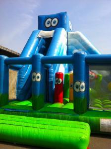 slide obstakel run
